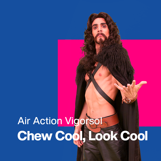 Air Action Vigorsol Chew Cool, Look Cool