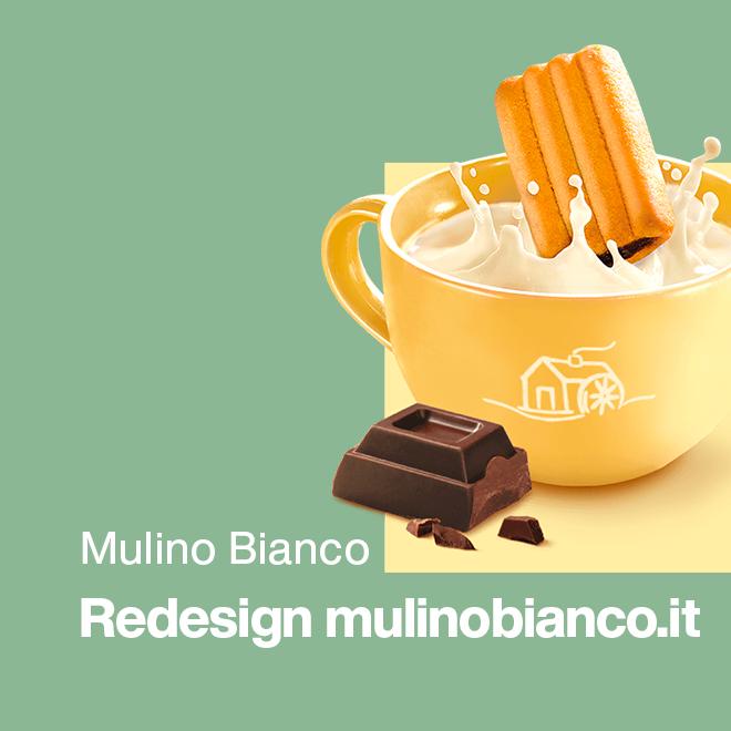 Mulino Bianco redesign